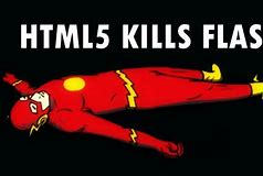 HTML5 kills Flash
